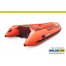 SOLAR 470 Super Jet tunnel (2020)